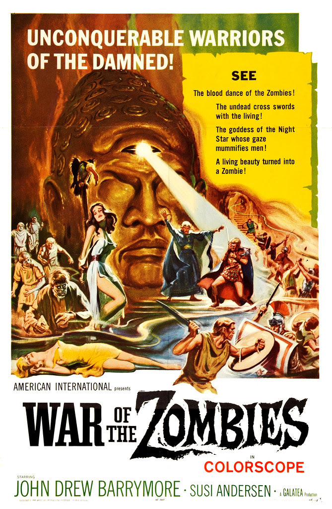 Reynold Brown - War of the Zombies (American International, 1965).