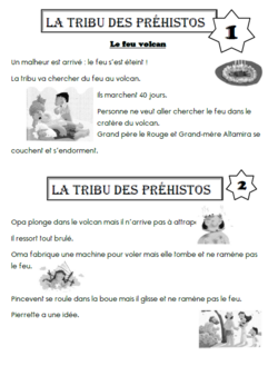 La préhistoire : La tribu des préhistos