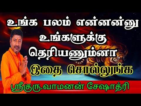 யானை பலம் குதிரை பலம் தரும் மந்திரம் | VAMANAN SESHADRI TIPS