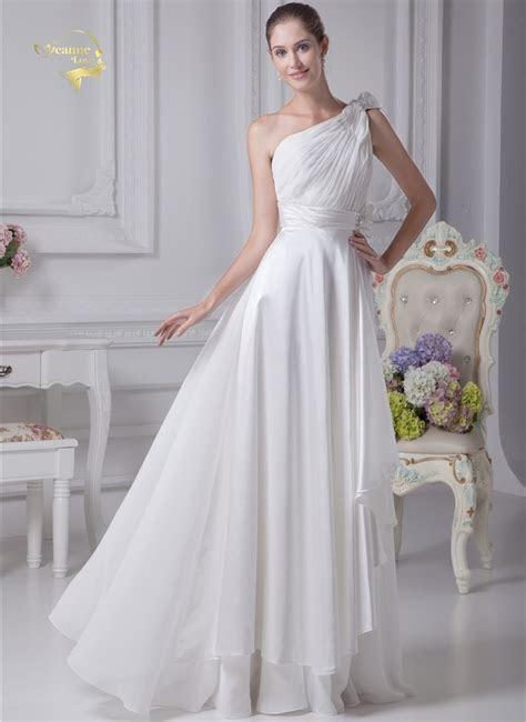 Sashes Chiffon Simple Beach Wedding Dresses 2018 New