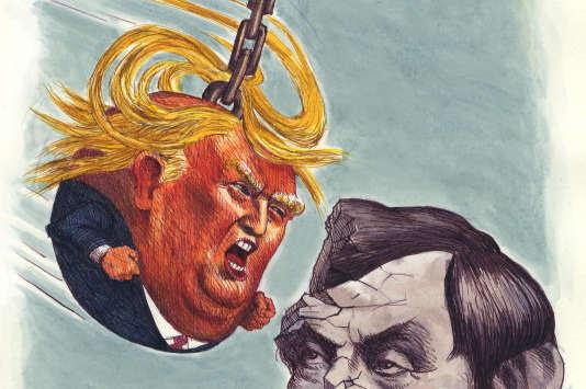 """Résultat de recherche d'images pour """"Trump boulet de démolition"""""""