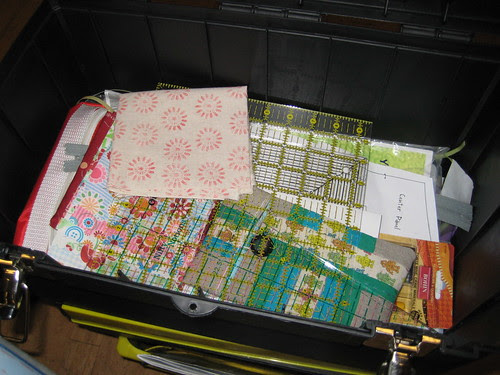 Quilter's tool box