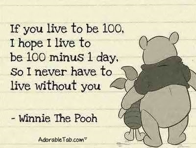Winnie The Pooh I Will Die Before You Quote Adorabletabcom
