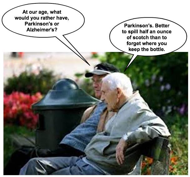 Parkinson's or Alzheimers