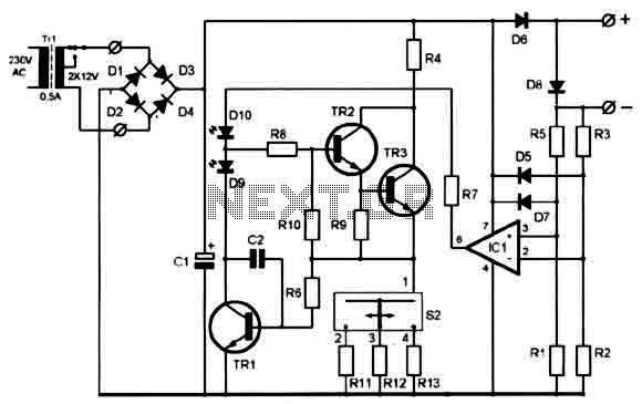 Electr 243 Nica Diagrama Plano Cargador De Bater 237 A Pila