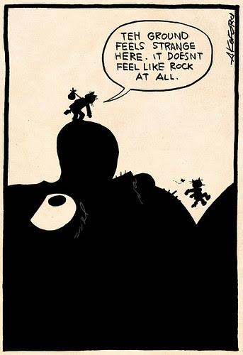 Laugh-Out-Loud Cats #2368 by Ape Lad