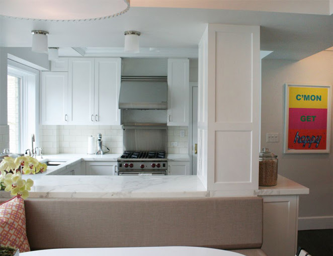 Small KItchen Design - Transitional - kitchen - Curated