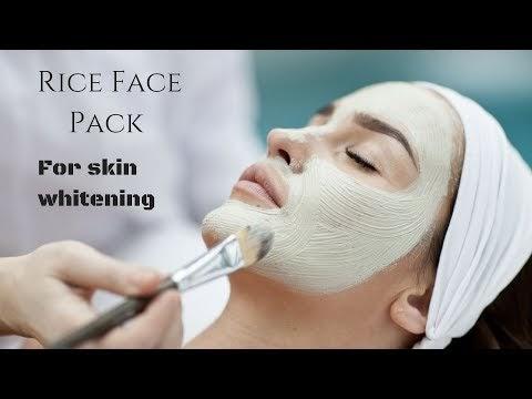 Rice Skin Whitening Face Packs To Get Fair Skin