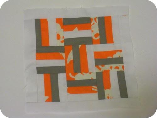 WIP Mini Quilt