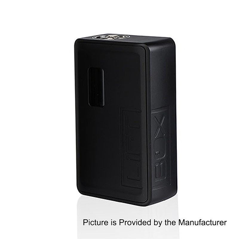 Authentic Innokin LiftBox Bastion Black 8ml Siphon Squonk Box Mod - $64.99