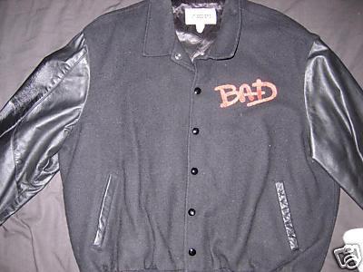 Michael Jackson Bad Tour Jacket Front