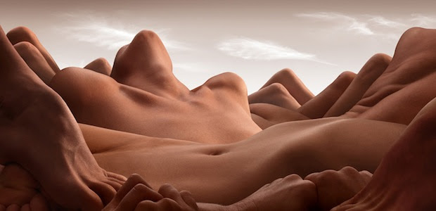 Bodyscapes: Creating Landscape Photos With the Human Body bodyscapes4