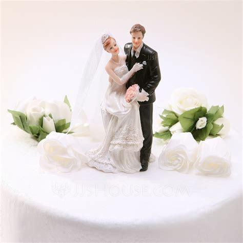 """""""Sweet Moment"""" Resin Wedding Cake Topper (119030557"""