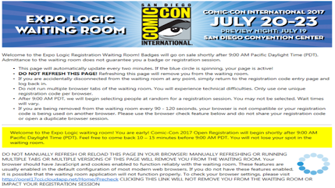 How To Get Comic Con Tickets After Sold Out