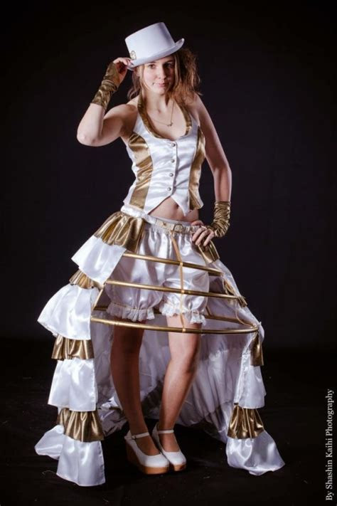 Creative Steampunk Wedding Dresses that are unique and fun