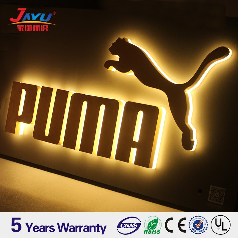 Best Selling Products Wooden Imitated Outdoor Backlit Led