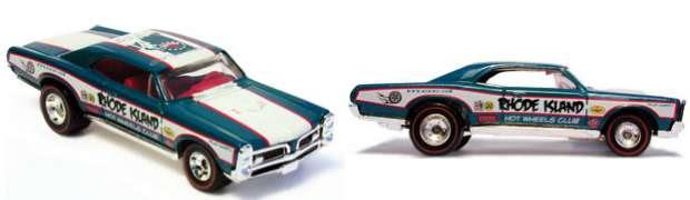 Hot wheels 67 gto