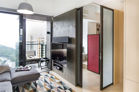 small smart hong kong apartment packed  personality