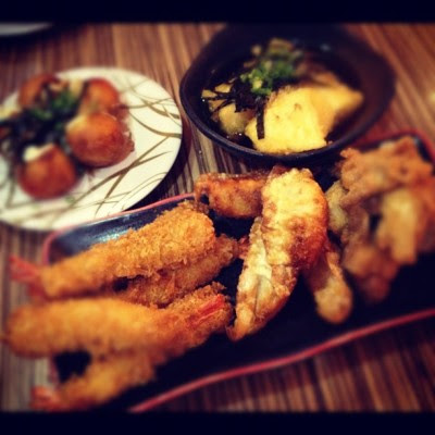 Tempt u more!:P #food #tempura #japanese #temptation  (Taken with instagram)