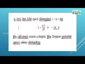 TN 12th Physics NEET | JEE Kalvi TV Videos 2021