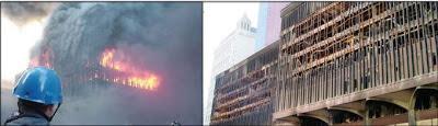 Le WTC 5 est un exemple de la manière dont se comporte un gratte-ciel en acier lors de grand incendies. Il a brûlé pendant plus de huit heures le 11 Septembre 2001 et n'a pas souffert d'un effondrement total.