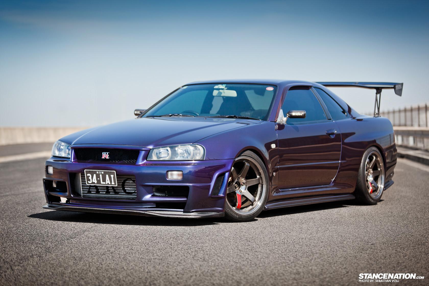 Midnight Purple Iii Nissan Gtr R34 1680 X 1120 Hot Supercars