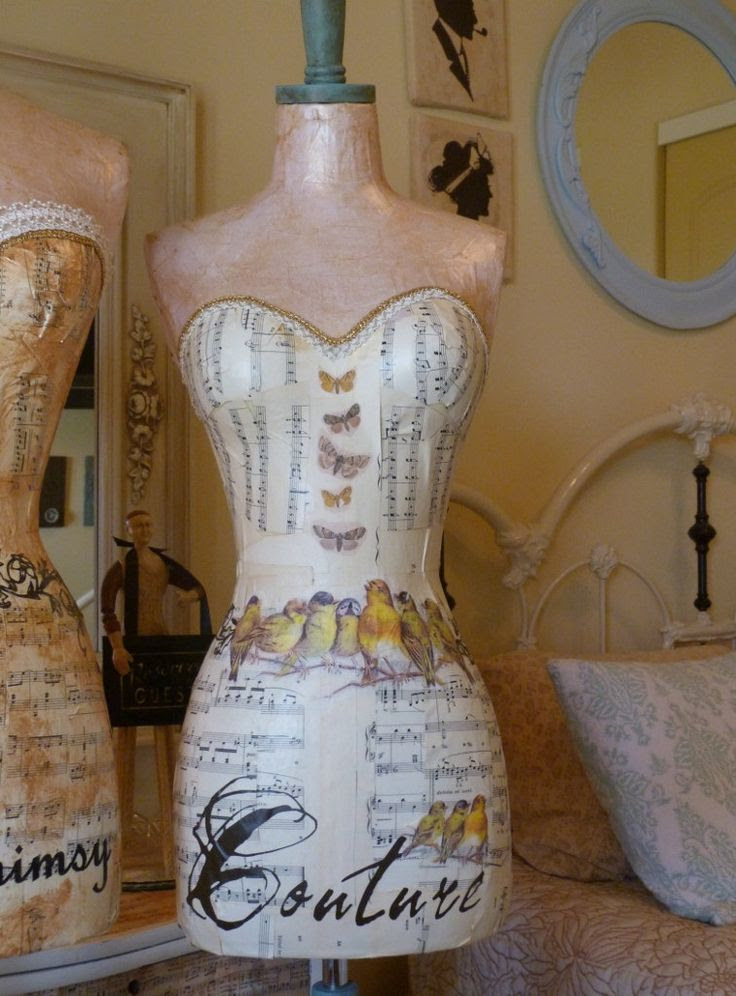 Full Size Vintage Inspired Dress Form by autumnlady18 on Etsy, $319.00
