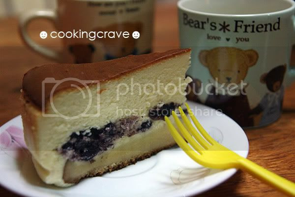 Blueberry Cheese Cake 1