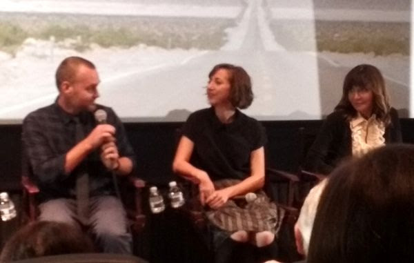 Will Forte answers a question as Kristen Schaal and Mary Steenburgen look on during the Q&A panel for THE LAST MAN ON EARTH...on June 9, 2016.