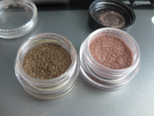 Depotted pigments