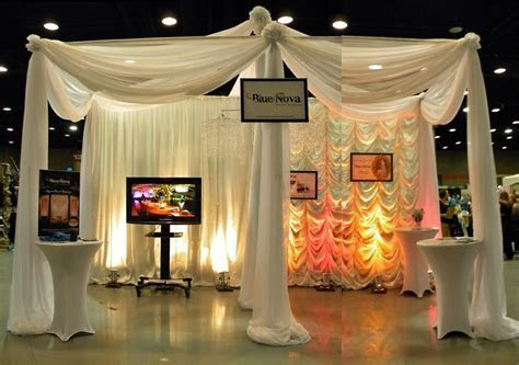 wedding expo booth; example of technology being