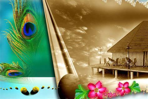 Wedding (Marriage) Studio Album Design Photoshop Psd File