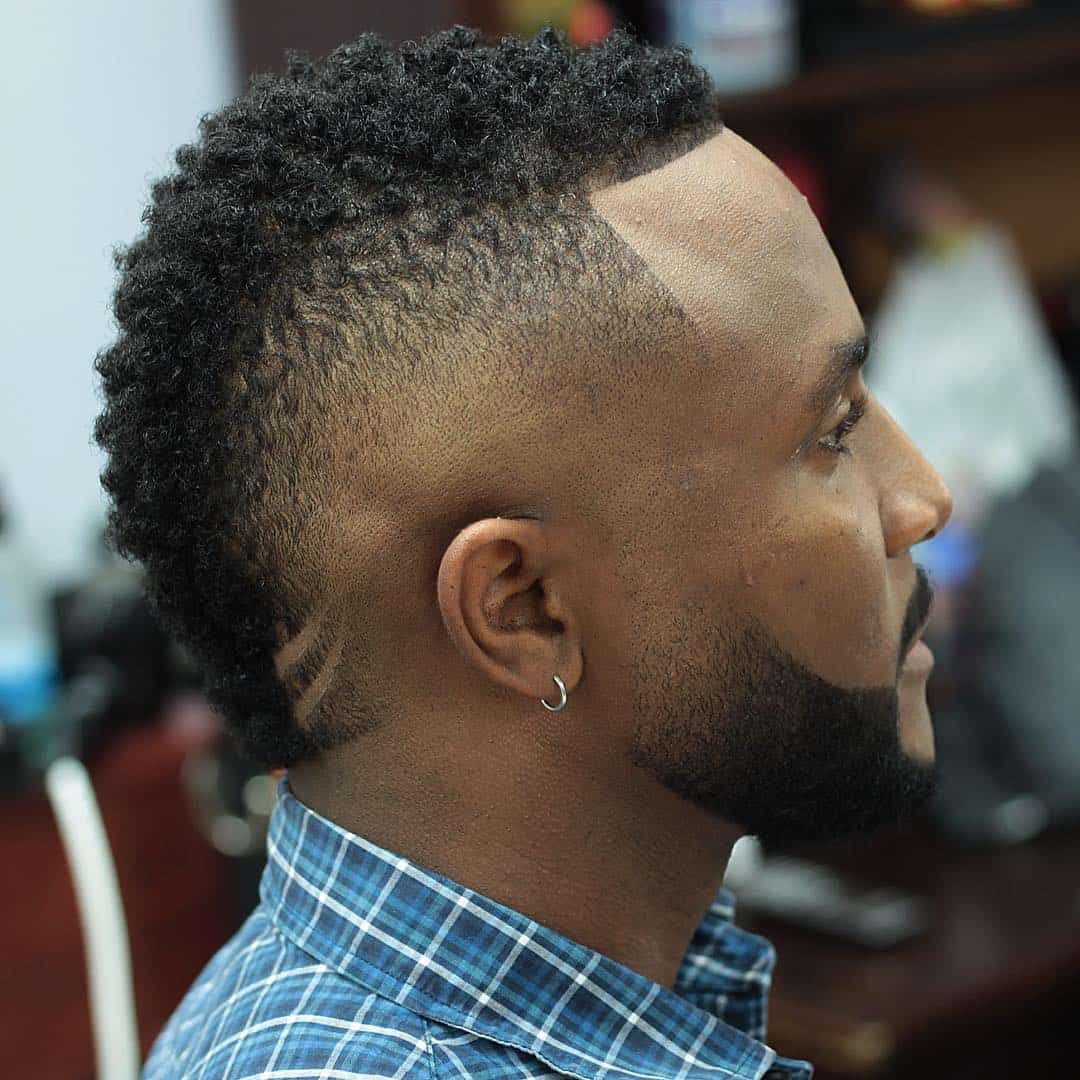 the marquerink's blog: 20 fade haircuts for black men mens