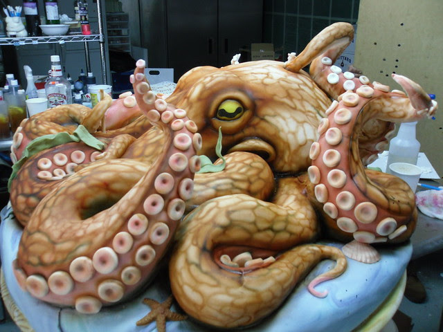 Giant Octopus Cake