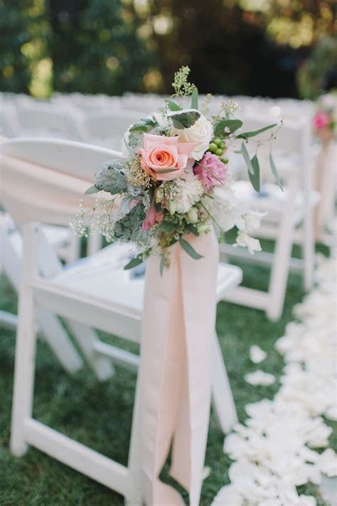 Best 25  Wedding chair decorations ideas on Pinterest
