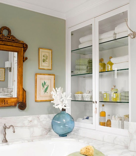 New Home Interior Design Cut Clutter In Your Bathroom