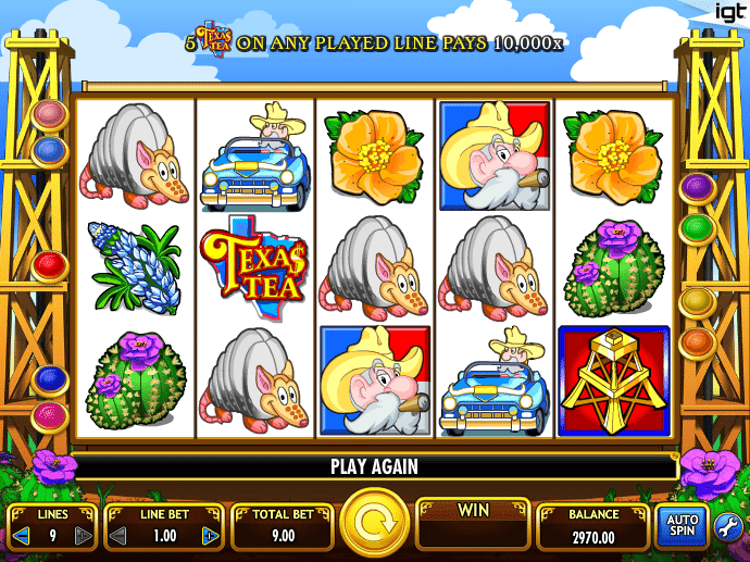Apr 28, · Texas Tea™ - Player´s favorite online slot machine for free to play only here at ! Play one of the best IGT Interactive™ slots without download or registration right now! Check reviews of casinos where you can play Texas Tea for real money and 81%.