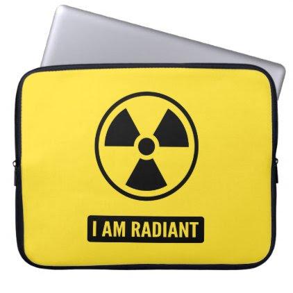 I am Radiant Laptop Sleeve