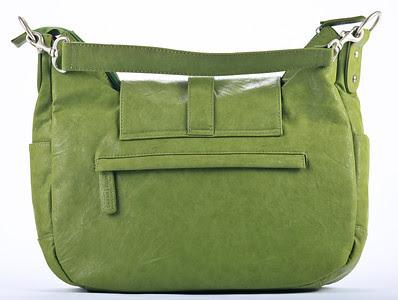 Kelly Moore Camera Bag B-Hobo Grassy - Rear View