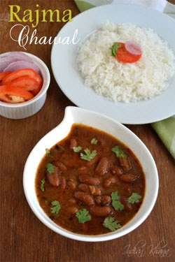 how to cook rajma chawal