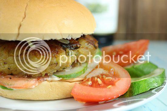 Chickpea burger 2