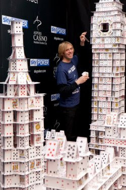 Cardstacker Bryan Berg