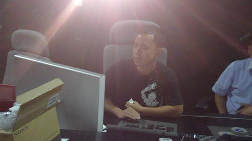 Ming Jin working