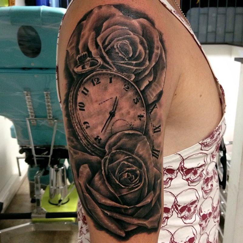 Reloj Y Rosas