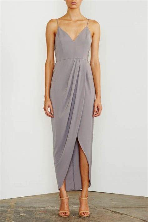 25  best ideas about Grey dresses on Pinterest   Midi