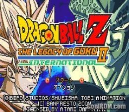 บทสรุป Dragon Ball Z The Legacy of Goku II GBA