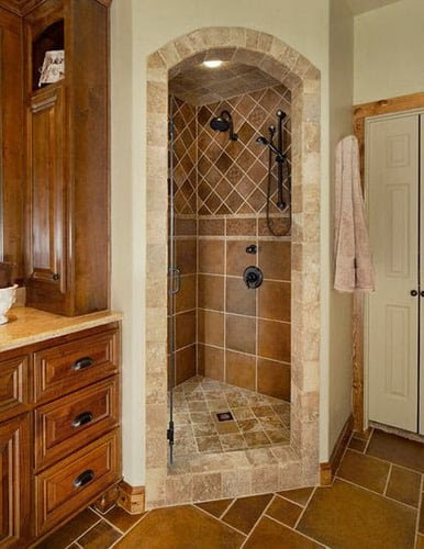 The Pros and Cons of Tiled Walk-In Showers - Home Decor Help