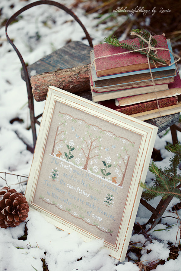 Garden of Snow (Country Cottage Needleworks)