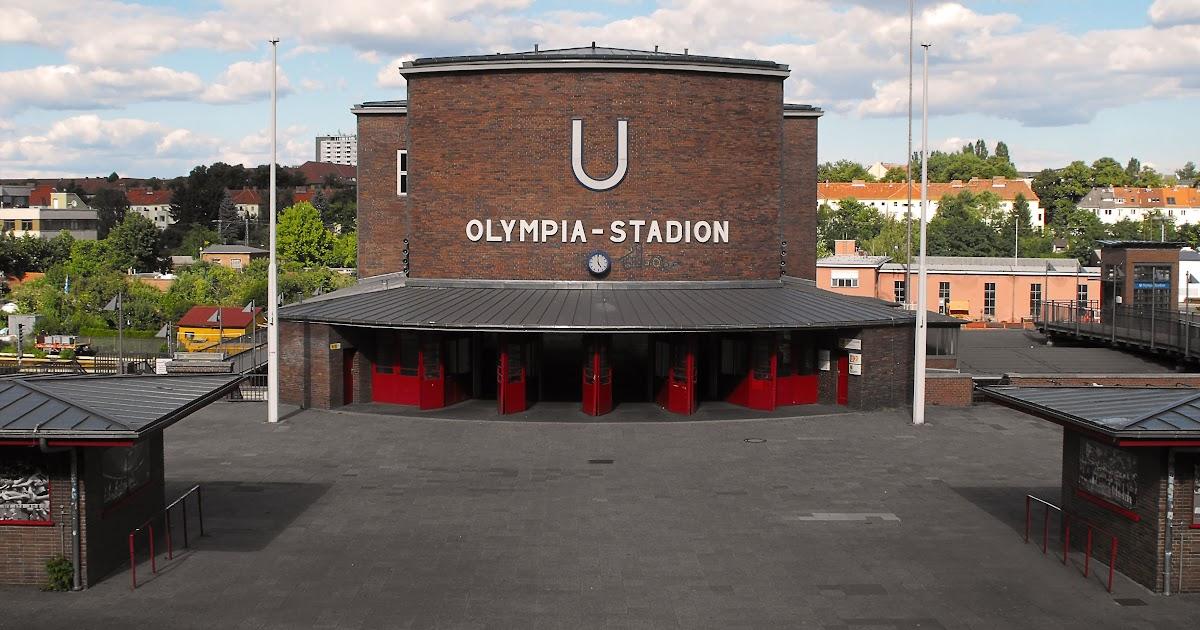 U Bahn Olympiastadion Berlin