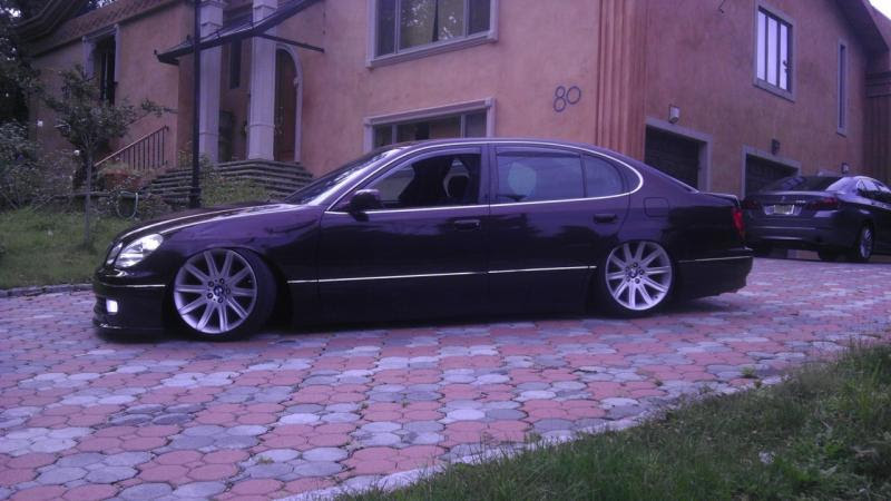Bmw 745li Rims With New Tires With 5xx120 Adapters Looks Sick Mbworld Org Forums